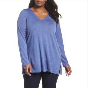 100% Merino Wool Eileen Fisher Plus Size Sweater